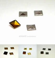 Pyramid Metal Studs, Hot Fix Iron on, Embellish Bags,Belts,Shoes, Mobile Phone
