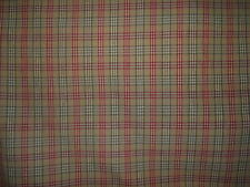 Kravet Couture Highland Plaid fabric by the yard multiple colors