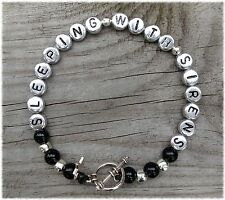 HAND MADE ROCK STAR BRACELET - Of Mice and Men - Lower than Atlantis - Mike Duce