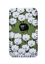 BLACK SHEEP Green DESIGN PHONE CASE POUCH FITS NOKIA lumia 520,620,712,920,925