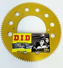 DID DHA Chain 100 Link & Sprocket for Kart 219 - Best Price- TKM - Rotax -