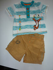 DISNEY Gorgeous Little Boys TIGGER Outfit First Size (up to 9lbs) NWT