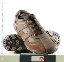 Route 21 Mens New Brown Smart  Dress Casual Trainers FREE P&P ALL UK Sizes 6-12