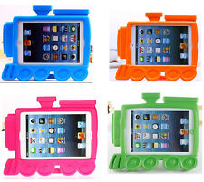 Train Engine EVA Kids Shock Proof Stand Handle Case Cover For iPad Mini 1st 2nd