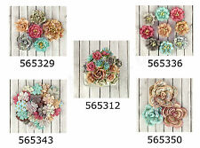 Prima * FAIRY RHYMES * MULBERRY PAPER FLOWERS * Scrapbooking Cards *NEW 2013*