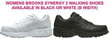 Brooks Synergy 2 Womens Leather Walking Shoe (B) + FREE DELIVERY AUS WIDE
