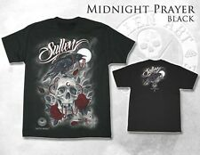 AUTHENTIC SULLEN CLOTHING MIDNIGHT PRAYER GOTH TATTOO SKULL INK T SHIRT M-3XL