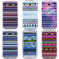 Color Stripe Hard Back Skin Case Cover for Samsung Galaxy Grand Duos i9080 i9082