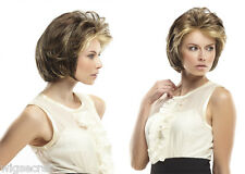Hillary Short Straight Lace Front Open Cap Jon Renau Blonde Red Layer Bob Wigs