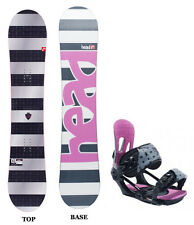 Head Legacy Rocka Rocker Womens Snowboard+Matching Bindings NEW 139 143 147 151