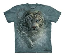 The Mountain T-Shirt Wet & Wild Tiger Youth Size