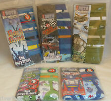 BOYS BRIEFS BON BEBE 6 OR 3 PACK 100% COTTON ASSORTED SIZES AND THEMES NIP