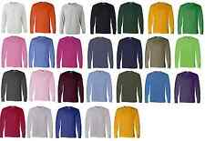 Fruit of the Loom Heavy Cotton Long Sleeve T-Shirt 4930R S-3XL ,25 colors