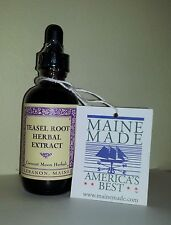 TEASEL ROOT Herbal Lyme Therapy Tincture Extract, 2, 4, 8 oz, Made in Maine