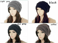 New Arrival Trendy UNisex Beanie Slouchy Hat For Covering your Head Ruffle Cap C