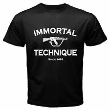 Immortal Technique Felipe Andres Coronel Hip Hop Rap T Shirt Size S - 3XL Av