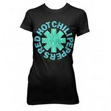 AUTHENTIC RED HOT CHILI PEPPERS ASTERISK AQUA JUNIORS TUNIC TEE T SHIRT S M L XL