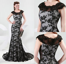 2013 Newest Long Prom Lace Dress Ball Gown Evening Dresses Wedding Dresses Stock
