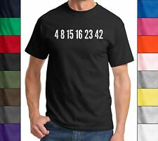 Lost Numbers - Funny TV Show Parody T-Shirt Novelty Holiday Gift Tee