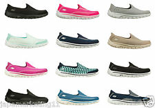 LADIES WOMENS SKECHERS GO WALK 2 COMFORT SHOES TRAINERS PUMPS.