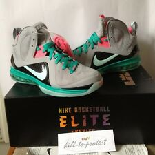 NIKE LEBRON 9 SOUTH BEACH TEAL Sz US UK 9 10 10.5 11 12 13 Pre Heat 516958-001