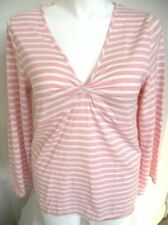 NWOT Lane Bryant Cacique Plus Size Sleep Top in Pink Stripes