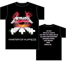 AUTHENTIC METALLICA MASTER OF PUPPETS ROCK METAL MUSIC BAND SHIRT S M L XL 2XL