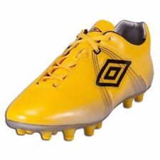 NEW Mens Sz 7.5 UMBRO GT Pro HG Hard Ground Yellow Soccer Cleats Football Boots