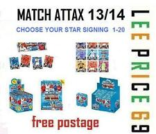MATCH ATTAX 13/14 CHOOSE FROM ALL 20 STAR SIGNING FROM ALL 20 TEAMS