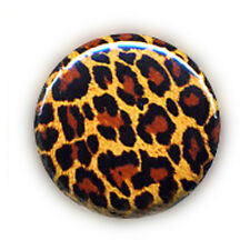 Badge LEOPARD pop rock 80's punk ska emo cosplay goth rockabilly burlesque Ø25mm