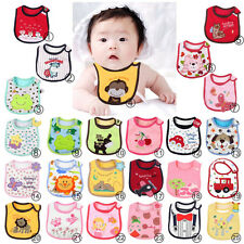 Waterproof Cotton Baby Infants Kids Child Bibs Saliva Towel for Baby Care