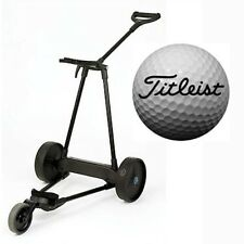eMotion e3 Electric Pull Push Caddy Cart + 2dz Titleist Pro V Series Golf Ball