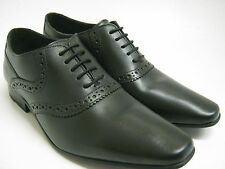 BASE LONDON BLACK LEATHER LACE UP SHOES  HARRY MTO
