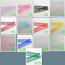 Wholesale 10 yards and embroidery lace ribbon and color of choice 13 color