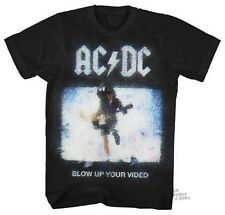 ACDC Blow Up Your Video Licensed Adult Shirt S-XXL