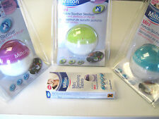 MILTON MINI  STERILISING SOOTHER POD  AS SEEN ON TV  2 COLOURS  BPA FREE