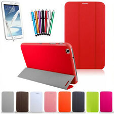 3 Folded Folding Stand PU Leather Case Cover For Samsung Galaxy Tab 3 8.0 T 310