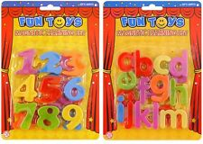 NEW MAGNETIC NUMBERS KIDS SET LEARNING MATHS TOY LETTERS NUMBERS FRIDGE MAGNETS