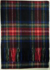 New 100% Pure Cashmere Scottish Modern Tartan Check Scarf with Choice of Tartan