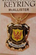 McAllister to Buckley KEYRING Coat of Arms - Heraldic Crest - Metal Key Chain