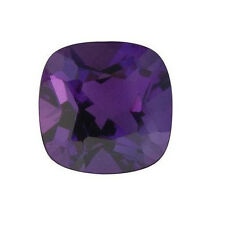 NATURAL FINE DEEP RUSSIAN PURPLE AMETHYST - CUSHION CUT  - TOP GRADE - GEMSTONE
