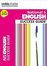 NEW National 5 English Success Guide by Iain Valentine Free Shipping
