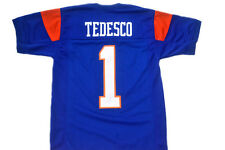 HARMON TEDESCO #1 BLUE MOUNTAIN STATE FOOTBALL JERSEY NEW BLUE - ANY SIZES