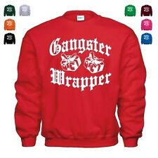 Gangster Wrapper Funny Christmas Pimp Thug Life Hip Hop Beats Gift Sweatshirt