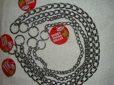 "New - XL, Large, Medium, or Small Dog Collar 18""-26"" Choke Chain Choker for Dogs"