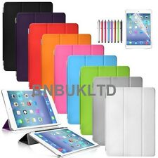 Ultra slim stand Smart Magnetic Leather Case Cover for New Apple sleep wake