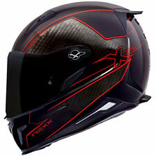 Brand New Nexx XR2 Full Face Carbon Motorcycle Helmet - Carbon Pure Red