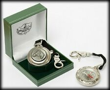COMPASS - Quality Pewter Stainless Steel  - Family Coat of Arms Crest G to Z