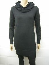 Womens ESPRIT Roll Neck Fine Knit Jumper Black Size 8 to 20 Ladies WJ175