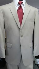 Tan Catalina Men's Suits by After Six Used Jacket and Trousers, Wedding, Prom
